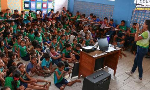 Semma inicia palestras nas escolas sobre meio ambiente | Portal Obidense