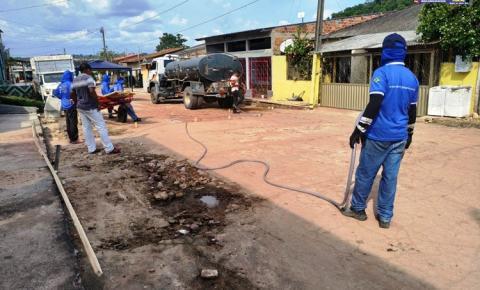 Ruas do bairro de Lourdes recebe serviço de recuperação | Portal Obidense