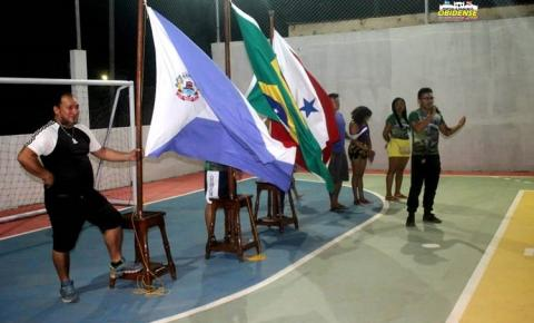 Cerimonial e inicio do Campeonato do STPMO foi o que movimentou o esporte em Óbidos | Portal Obidense
