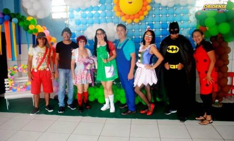 Escola José Veríssimo promoveu ação de dia das crianças nesta segunda-feira (14) | Portal Obidense