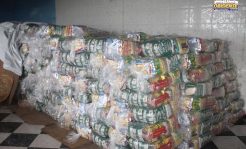 Mais de 400 cestas básicas serão doadas em Óbidos | Portal Obidense
