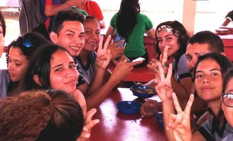Escola municipal Raimundo Chaves faz intercambio com escola estadual Maurício Hamoy | Portal Obidense