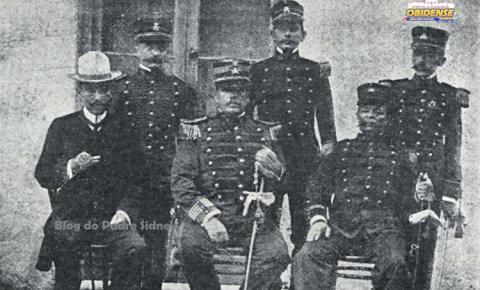 Nossa história - Guarnição Militar de Óbidos em 1907 | Portal Obidense