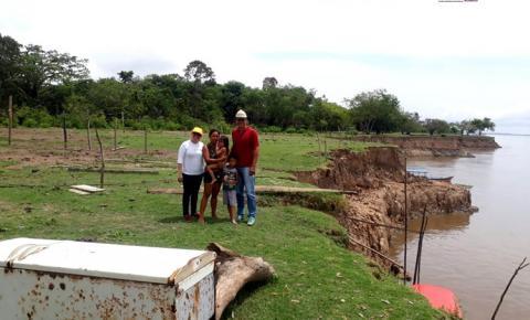 Fenômeno das terras caídas na Costa do Parú em Óbidos – PA | Portal Obidense