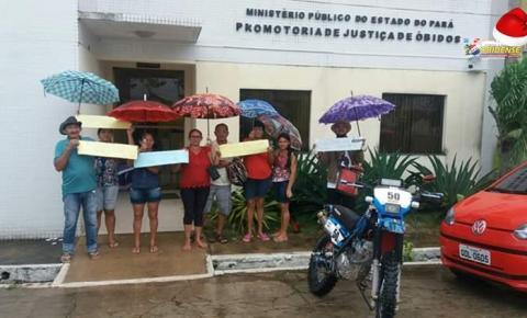 Moradores da Rua Antônio Fernandes procuram Ministério Público para denunciar situação | Portal Obidense