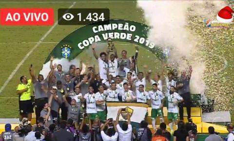 Cuiabá é Bicampeão da Copa Verde em cima do Paysandu em pleno Mangueirão | Portal Obidense