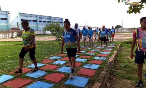 Idosos do API - Conviver do bairro da Cidade Nova participam de aula passeio | Portal Obidense