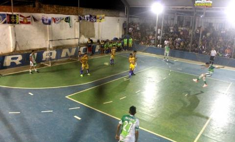 Amigos de Terezinha e Óbidos.com, decidem campeonato de futsal no Mariano | Portal Obidense