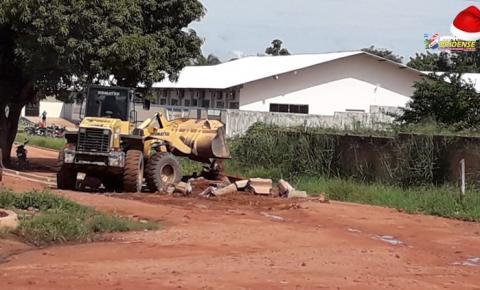Nada feito – Artur Bernardes sem asfalto e também sem meio fio | Portal Obidense