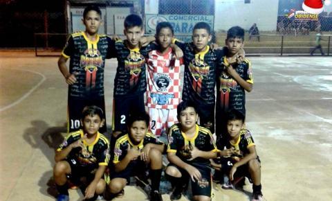 Iniciou o campeonato Sub-10 de Futsal, com destaque para o time Nova Camisa aplicando goleada | Portal Obidense