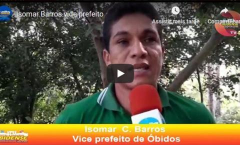 Vice-prefeito de Óbidos Isomar Barros esteve visitando 4 comunidades | Portal Obidense