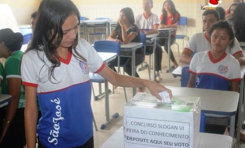 Alunos escolhem de forma democrática a logo do projeto feira de ciência 2019, da Escola São José | Portal Obidense