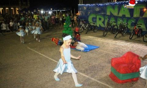Prefeitura municipal de Óbidos realiza mais uma edição do Natal Criança Feliz | Portal Obidense