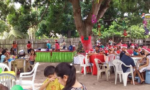 Mais de 20 anos Família Araújo oferece mesa farta a todos no dia de Natal | Portal Obidense