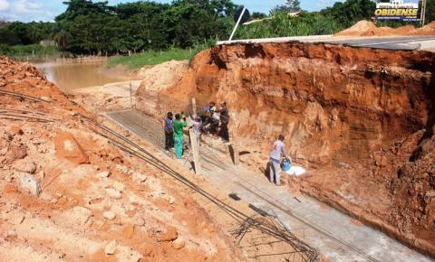 Empresa Capitólio inicia obra de recuperação da nova PA 437 | Portal Obidense