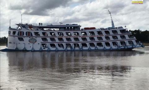 Ferry Boat Comte. Paiva anuncia viagem na segunda-feira (06) de Alenquer Para Manaus   Portal Obidense