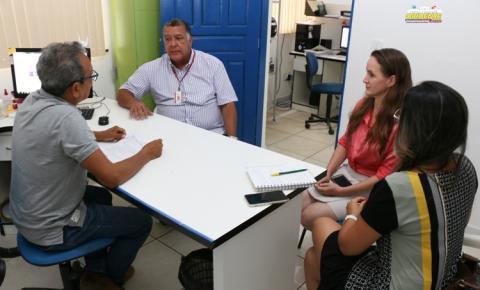 Prefeito assina ordem de serviço para elaboração do projeto de execução da orla de Óbidos | Portal Obidense