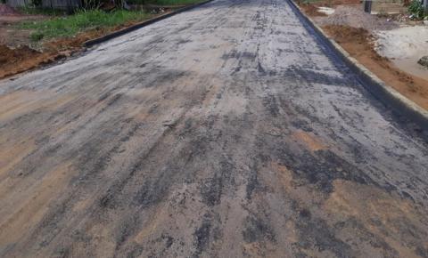 Chuva leva asfalto das ruas do bairro São Lázaro em Oriximiná | Portal Obidense