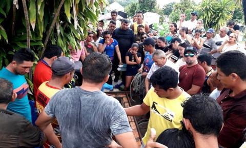 Comunidade obidense se despede de Nivaldo Aquino | Portal Obidense