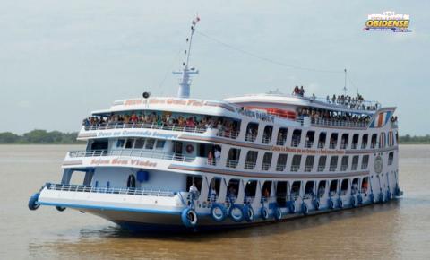 Ferry Boat Comte. Paiva sai nesta terça-feira (11) de Manaus para Alenquer com escala em Juruti e Óbidos | Portal Obidense
