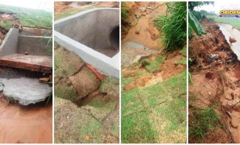 PA-437 apresenta problemas após chuvas | Portal Obidense