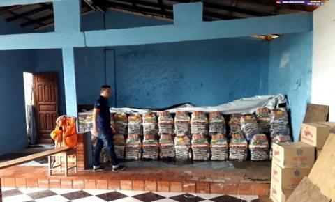 Defesa Civil Óbidos finaliza entrega de cestas básicas para ribeirinhos | Portal Obidense