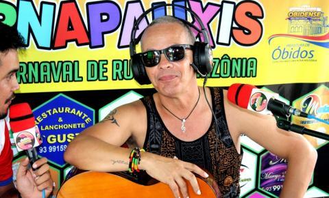 Xande Alves fala sobre a ansiedade de cantar pela primeira vez no bloco Xupa Osso | Portal Obidense
