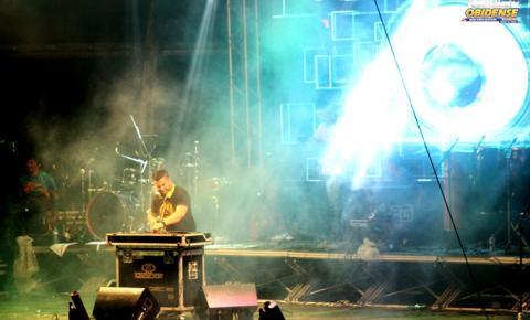 Público aprovou DJ Adriano Nanini no palco Fobódromo | Portal Obidense
