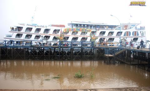 Ferry Boat Comte. Paiva sai na sexta-feira (28) para Manaus | Portal Obidense