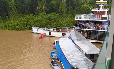 Oito pessoas são resgatadas após naufrágio de embarcação | Portal Obidense