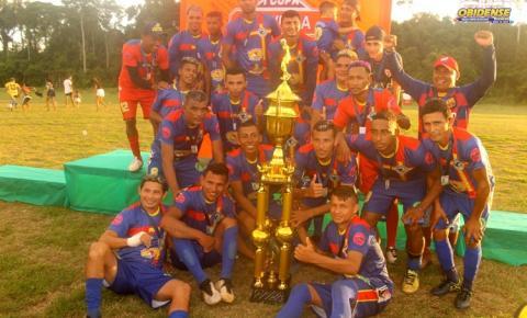Trovão Azul é campeão da primeira edição da Copa Oliveira | Portal Obidense