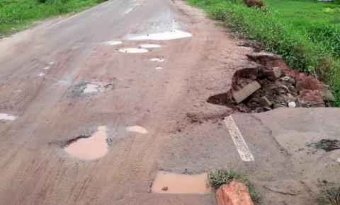 Ponte do bairro Bela Vista necessita de reparos urgente | Portal Obidense