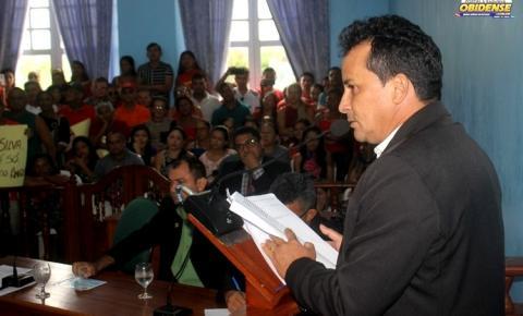 Vereadores votam contra parecer do relator e aprovam as contas do ex-prefeito Jaime Barbosa da Silva | Portal Obidense
