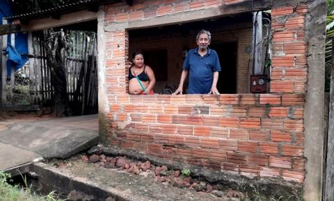 Em Óbidos, Ilhado em sua residência, aposentado pede ajuda e culpa o governo municipal | Portal Obidense