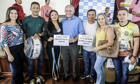 Campeões do Festival de Bandas e Fanfarras 2019 recebem premiações em Santarém | Portal Obidense