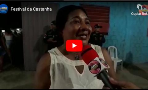 Professora Alexandrina fala da importância econômica e cultural do Festival da Castanha na comunidade do Andirobal | Portal Obidense