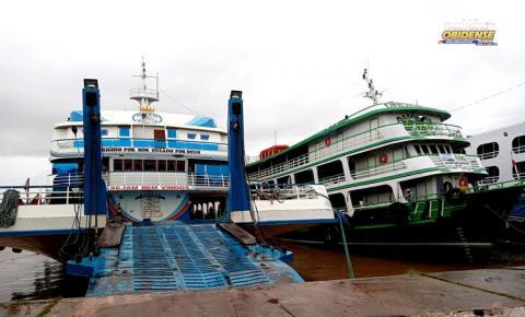 Embarcações que fazem viagem para Santarém se adequam com a atual situação | Portal Obidense