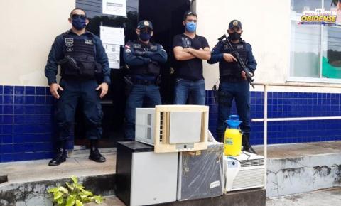 Em Óbidos, jovem é preso por furto e vários objetos são recuperados | Portal Obidense