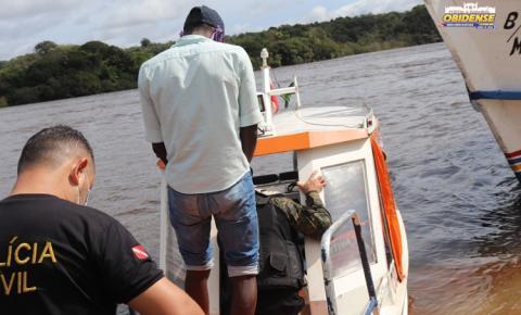 Policia Civil de Oriximiná, operação no Alto Trombetas a pedido de MPE e Promotoria de Oriximiná | Portal Obidense