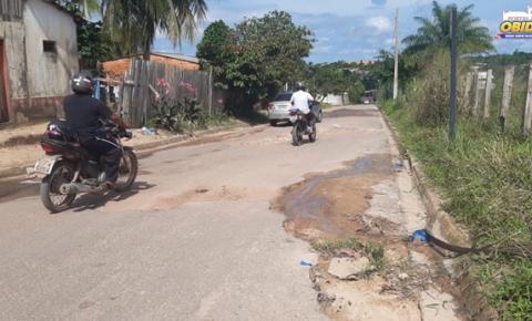 Bairro Bela Vista sofre com ruas esburacadas | Portal Obidense