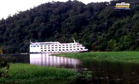 Ferry Boat Obidense saí dia 05 de junho de Óbidos Para Manaus | Portal Obidense