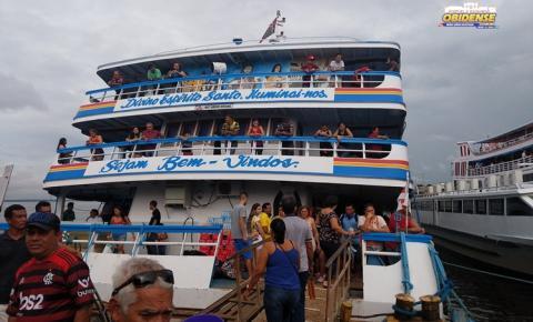 Programação Ferry Boat Obidense II, sai de Manaus nesta sexta-feira (12) levando cargas e encomendas | Portal Obidense