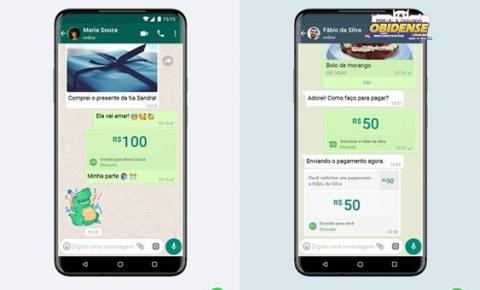 Como receber dinheiro ou pagamentos usando o Whatsapp| Portal obidense