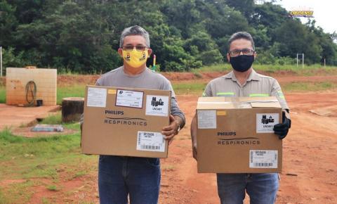 MRN entrega respiradores aos municípios de Oriximiná e Terra Santa | Portal Obidense