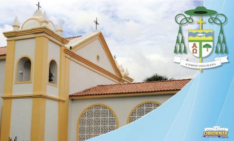 Bispo Diocesano Dom Bernardo emite comunicado sobre não realização de missas | Portal Obidense