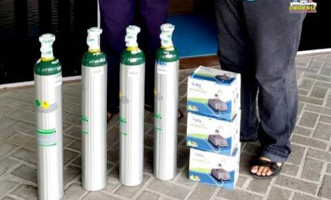 Coordenação Obidense Contra a Covid entrega mais equipamento ao Hospital Dom Floriano | Portal Obidense