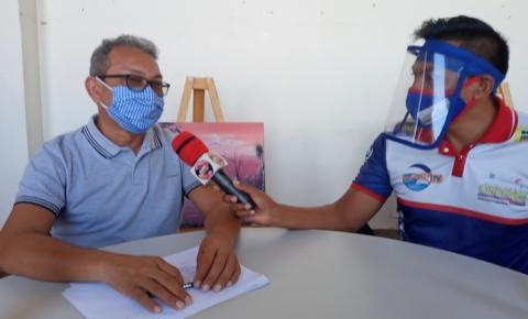 Prefeito Chico Alfaia fala das obras em andamento em Óbidos | Portal Obidense