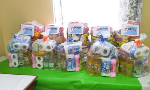 Sindicato dos servidores públicos de Óbidos, realiza sorteio de cesta básicas | Portal Obidense