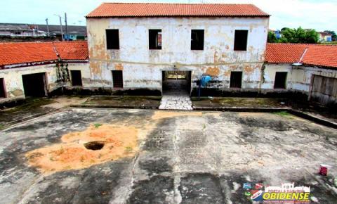 Obras de reforma e restauração do Forte Pauxis continuam paralisadas