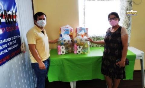 STPMO faz doação de cestas básicas à sócios | Portal Obidense